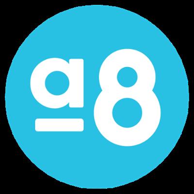 Activ8 blue circle hour